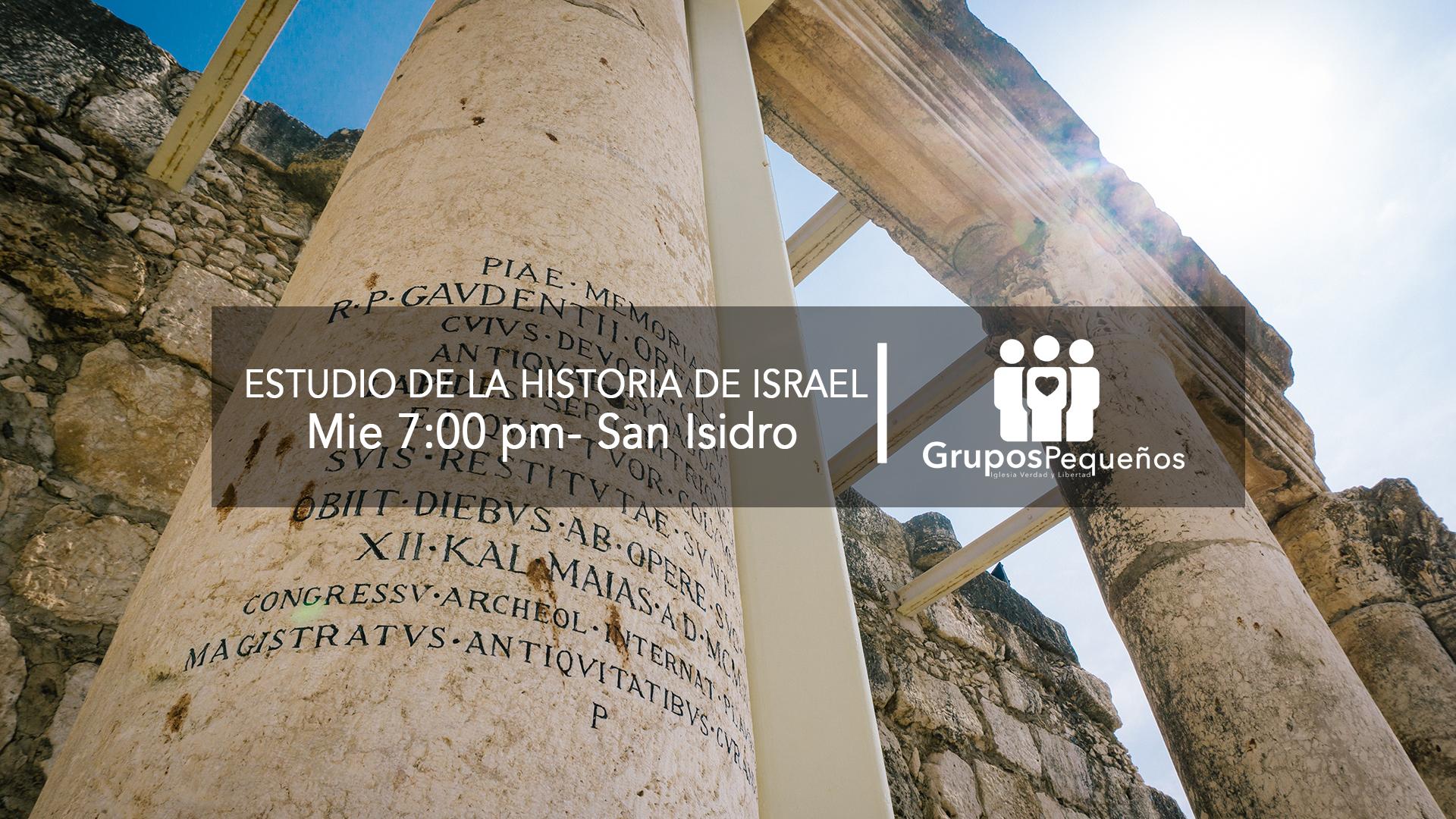 Estudio de la historia de Israel, pt. 1